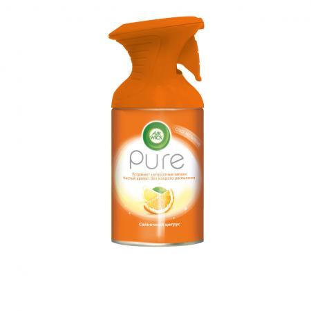 AIRWICK Pure Освежитель воздуха Солнечный цитрус 250 мл
