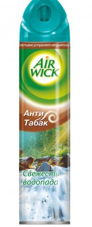 AIRWICK Aerosol Освежитель воздуха Свежесть водопада 240мл x 1105 automatic aerosol perfume dispenser wall mounted hotel home office air freshener abs plastic car air purifier fragrant