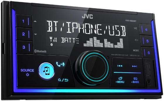 Автомагнитола JVC KW-X830BT USB MP3 FM RDS 2DIN 4x50Вт черный