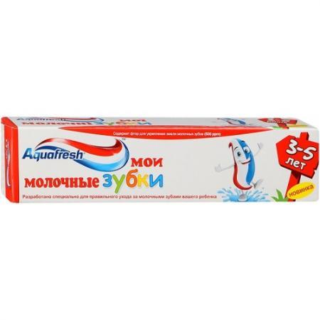 Зубная паста Aquafresh Мои молочные зубки 50 мл NS8005500/PNS7093900 гигиена полости рта aquafresh зубная паста мои большие зубки 50 мл