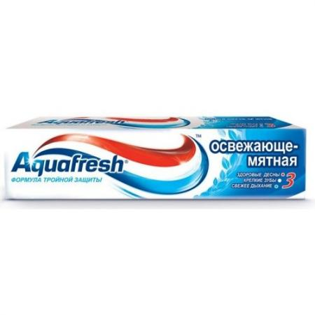 Зубная паста Aquafresh Освежающе-Мятная 50 мл PNS70808RU00/PNS7094100 aquafresh зубная щетка hd зубная паста отбеливающая aquafresh 75 мл