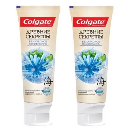 Зубная паста Colgate Безопасное отбеливание 75 мл colgate зубная паста комплексная 12 pro здоровое дыхание colgate 75 мл