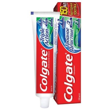 КОЛГЕЙТ Зубная паста Тройное действие 150мл