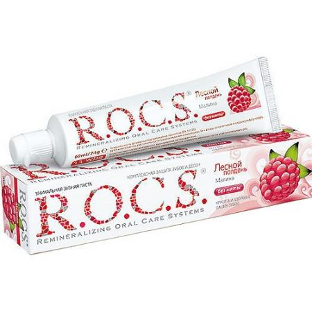 Зубная паста R.O.C.S. Малина 74 гр