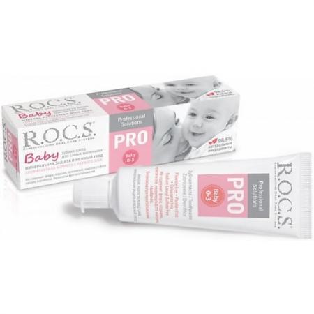 Фото Зубная паста R.O.C.S. PRO Baby Минеральная защита и нежный уход 45 грамм