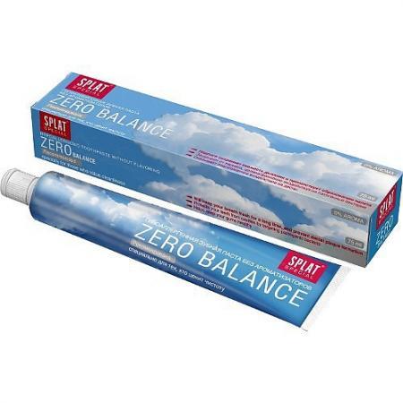 Зубная паста SPLAT Special Zero balance 75 мл