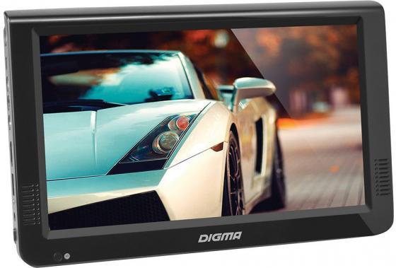 Автомобильный телевизор Digma DCL-1020 10.1 черный жк телевизор портативный digma dcl 720