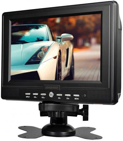 Автомобильный телевизор Digma DCL-700 7 черный автомобильный телевизор digma dcl 720 7 черный