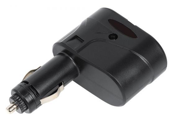 Разветвитель прикуривателя Digma DCN-12P2 черный разветвитель digma dcn 12p2