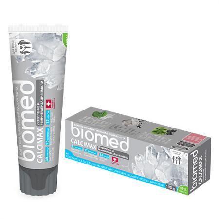 Зубная паста Biomed Кальцемакс 100 мл biomed зубная паста sensitive сенситив 100 г