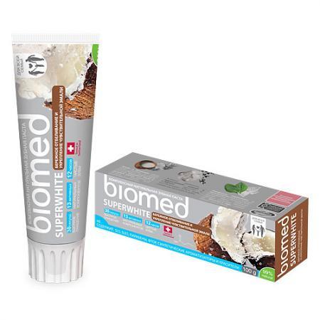 Зубная паста Biomed Супервайт 100 мл