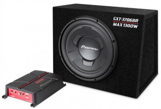 Сабвуфер Pioneer GXT-3706BR динамик 12 300Вт-1300Вт 4Ом сабвуфер pioneer ts wx305t динамик 12 350вт 1300вт 4ом