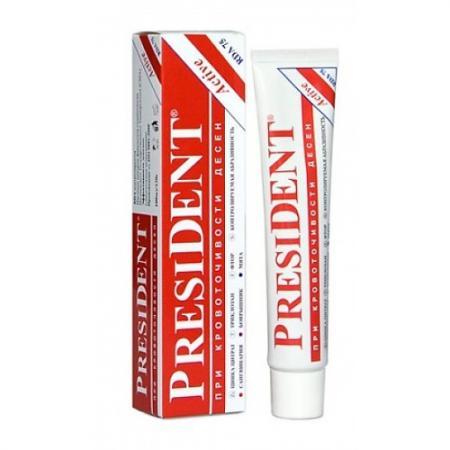 Зубная паста President Актив 75 мл пленка тонировочная president 35% 0 75 м х 3 м