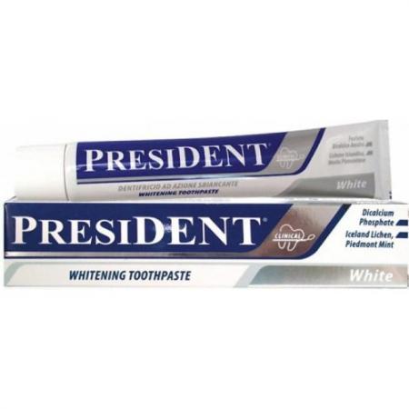 Зубная паста President Уайт 75 мл зубная паста president antibacterial 75 мл