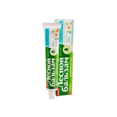 Зубная паста Лесной бальзам Основной уход за деснами и зубами 75 мл гигиена полости рта лесной бальзам зубная паста натуральное отбеливание и уход за деснами 75 мл