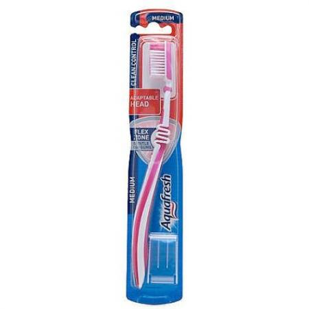 """Зубная щётка Aquafresh """"Everyday - Clean Control"""" aquafresh зубная щетка everyday клин контрол средняя"""