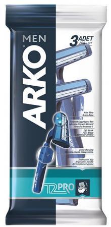 Бритвенный станок Arko Men T2 PRO 3 станок деревообрабатывающий мастер универсал 2500e 2 5квт эл блок