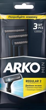 Бритвенный станок Arko Men Regular 2 3 станок деревообрабатывающий мастер универсал 2500e 2 5квт эл блок