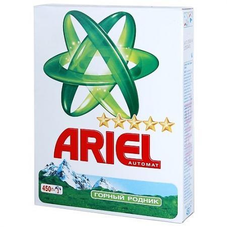 Стиральный порошок ARIEL Горный родник 450г порошок стир ariel автомат горный родник 3кг