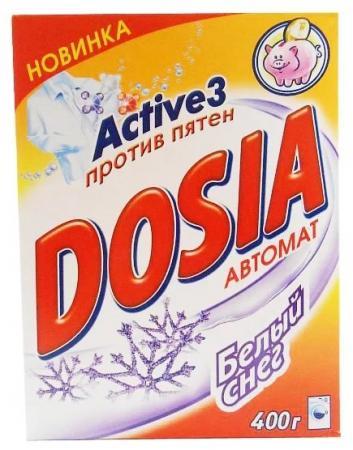 DOSIA Стиральный порошок автомат Белый снег 400г рб dosia стир порошок авт белый снег 1 8кг 953037