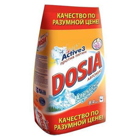 Стиральный порошок DOSIA Альпийская свежесть 8.4кг цены онлайн