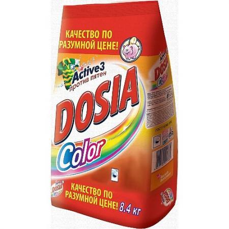 Стиральный порошок DOSIA Color 8.4кг стиральный порошок dosia color active max против пятен 1 8 кг