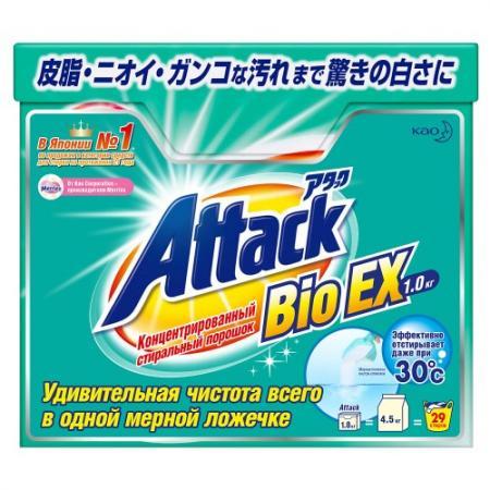 Стиральный порошок Attack BioEX — стиральный порошок deni дени детский 3 0кг