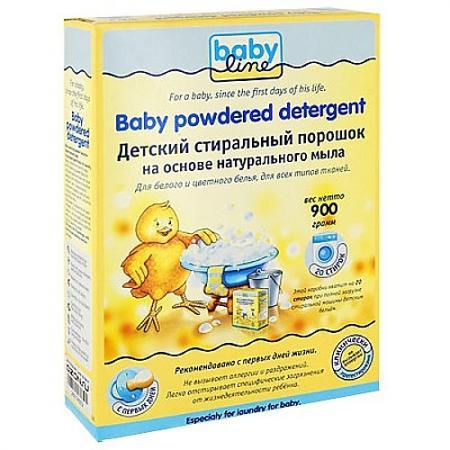 Стиральный порошок Babyline 900г стиральный порошок deni дени детский 3 0кг