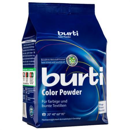 Стиральный порошок Burti Color 1.5кг 120243 детский концентрированный стиральный порошок burti 900 г
