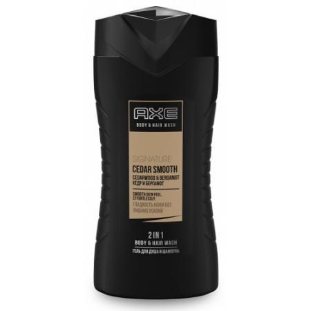 Шампунь-гель для волос и тела AXE Гладкое очищение 250 мл 67090514