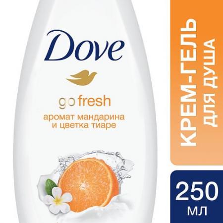 DOVE Крем-гель для душа Изысканное преображение 250 мл dove жидкое крем мыло прикосновение свежести 250 мл