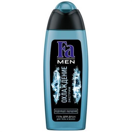 Шампунь-гель для волос и тела Fa Охлаждение: Экстрим 250 мл