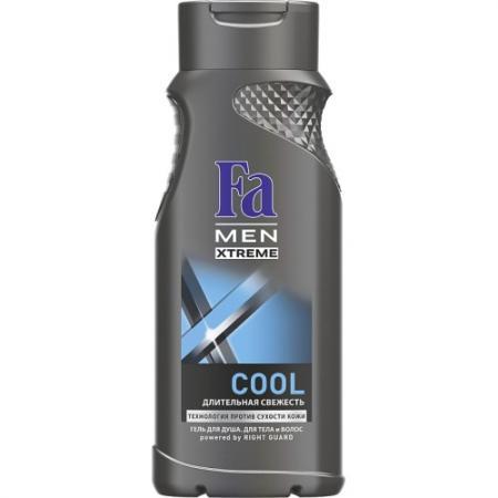 Fa MEN Гель для душа Xtreme Cool 250мл гель д душа fa медовый эликсир аромат белой гардении 250мл