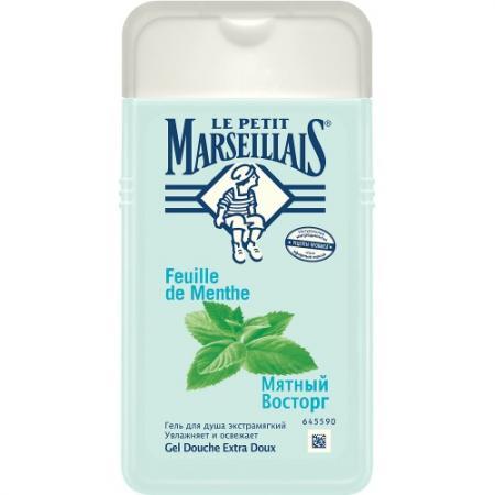 Гель для душа Le Petit Marseillais Мятный восторг 250 мл 10487 мятный сироп rieme голубая мята стекло 250 мл