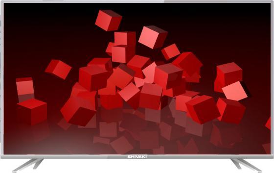 Телевизор LED 43 SHIVAKI STV-43LED16 серебристый 1920x1080 50 Гц RCA VGA SCART телевизор supra stv lc32t700wl