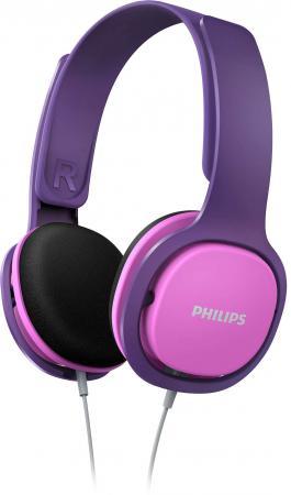 Наушники Philips SHK2000 розовый фиолетовый мультиварка philips hd4734 03