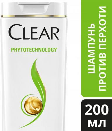 Шампунь Clear Phytotechology 200 мл