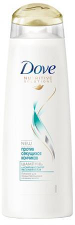 Шампунь Dove Против секущихся кончиков 380 мл шампуни ec lab шампунь для секущихся волос питательный 250мл