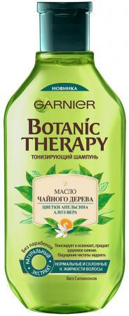 Шампунь Garnier Botanic Therapy Масло чайного дерева, цветки апельсина и алоэ вера 400 мл