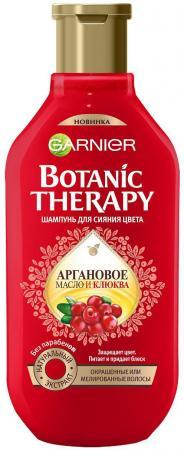 Шампунь Garnier Botanic Therapy Аргановое масло и клюква 400 мл пена для бритья figaro аргановое масло 400 мл