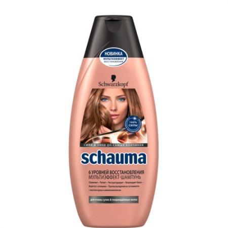 Шампунь Schauma 6 Уровней Восстановления 380 мл шампунь schauma schauma sc012lwsii35