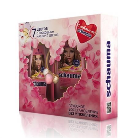 цены Набор Schauma 7 цветов подарочный