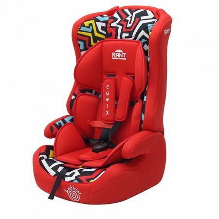 Автокресло Rant Comix (labirint red) автокресло rant miracle red