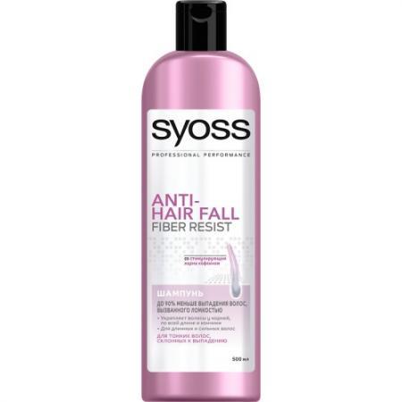 Шампунь Syoss Anti-Hair Fall 500 мл syoss шампунь для волос склонных к перхоти и жирности anti grease anti dandruff 500 мл