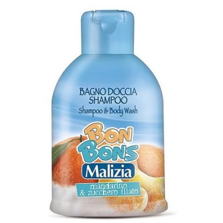 Шампунь-пенка Malizia Mandarin&Candy 500 мл 123411