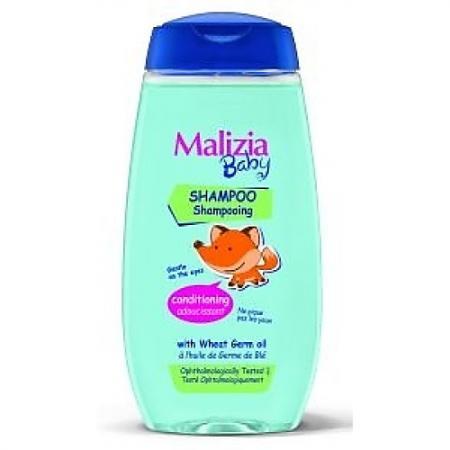 Шампунь-кондиционер Malizia Malizia Baby 320 мл шампунь и гель для душа 2в1 silver malizia 250 мл