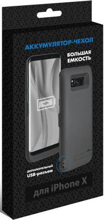цена на Чехол-аккумулятор DF iBattery-23 для iPhone X чёрный