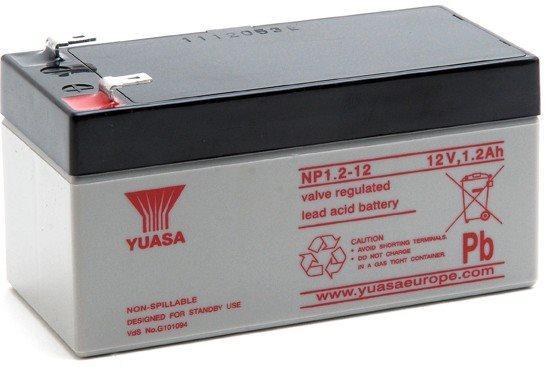 Батарея Yuasa NP1.2-12 12V/1.2AH все цены