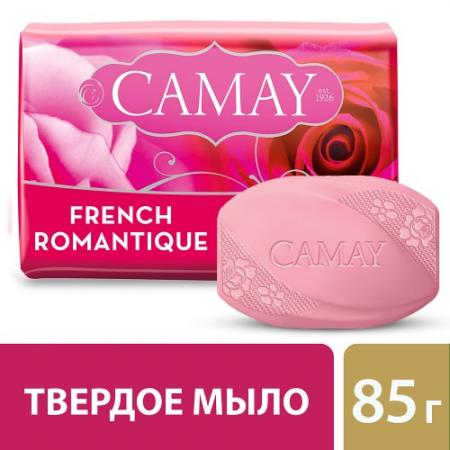 Мыло твердое CAMAY Романтик 80 гр 67048276