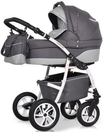 Коляска 2-в-1 Riko Modus New (26/графит-серый) коляска 2 в 1 aroteam pablo new